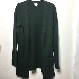 a new day Open Cardigan Sweater with Pockets